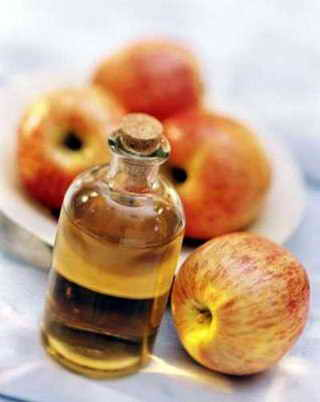 Лечение сосудистых звездочек яблочным уксусом