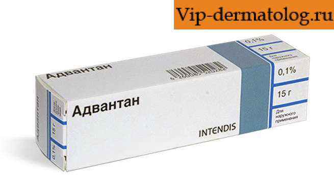 Лекарство Адвантан от экземы на руках